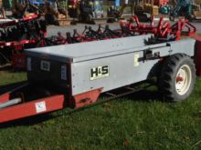 H and S 50 ground drive Manure