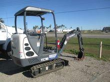 2015 Terex TC16 Mini Excavators