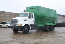 2001 J and A 3500 Feed Mixers