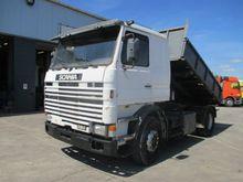 1993 Scania 93 - 280 Tipper tru