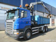 2007 Scania R420 12 ton/meter Z