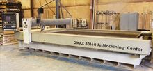2007 OMAX 80160 BRIDGE TYPE CNC