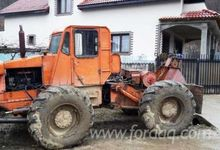 Articulated Skidder in Romania,