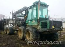 timberjack Forwarder in Romania