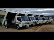 Tipper Trucks - Mitsubishi Fuso
