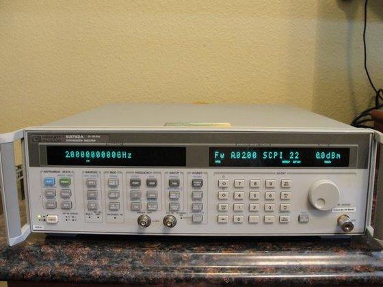 Agilent HP 83752A in United