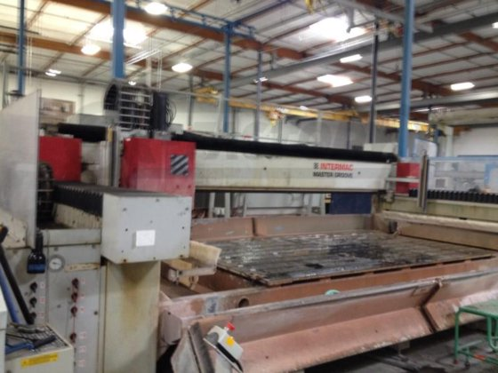 2003 INTERMAC MASTER GROOVE 1500 CNC WORK CENTER [GM-010237] in United  States