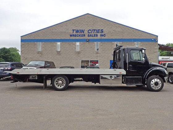 Flatbed Tow Truck >> 2016 Freightliner M2 Rollback Tow Truck In Saint Paul Mn Usa