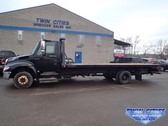 2004 International 4300 Rollback Tow Truck In Saint Paul Mn Usa