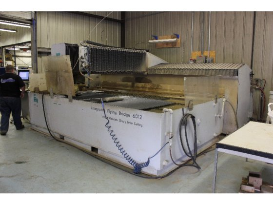 Flow 6012 Integrated Flying Bridge Abrasive Waterjet Model 713633-1