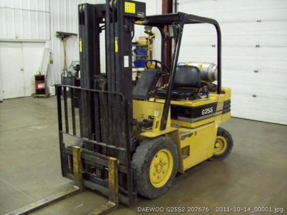 2009 Daewoo G25S2 in Des Moines, IA, USA