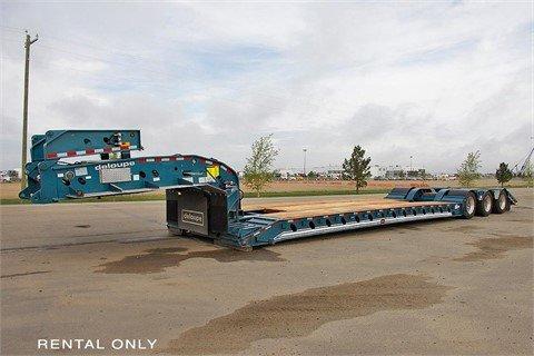 2014 DELOUPE 65 Ton Tri-Axle