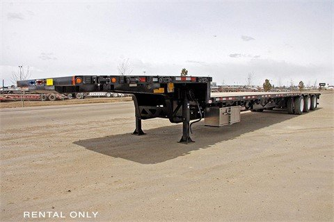 2014 EZ-2-LOAD 53HD3X Tri-Axle Step