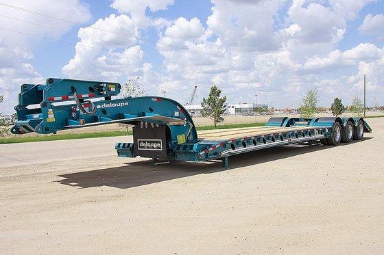 2014 DELOUPE 55 Ton Tri-Axle