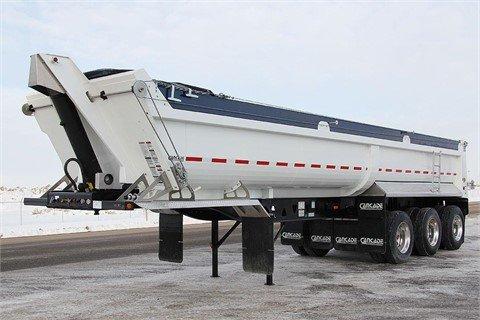 2013 CANCADE Tri-Axle End Dump