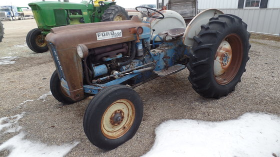 1963 Ford Tractor Model 2000 : Ford tractor in smith center ks usa