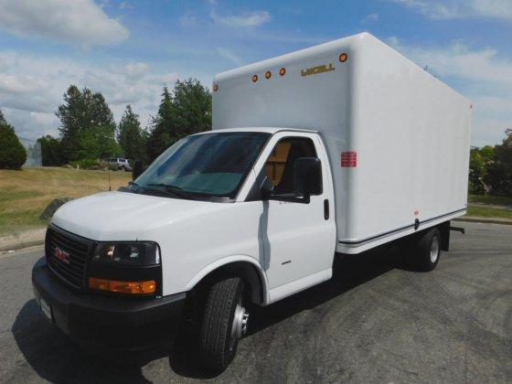 2017 Gmc Savana 3500 Cube Van Savana 3500 16ft Cube Van In Burnaby