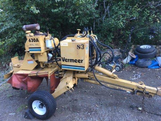 Vermeer Stump Grinder >> Vermeer 630a Tow Behind Stump Grinder In Ashland Or Usa