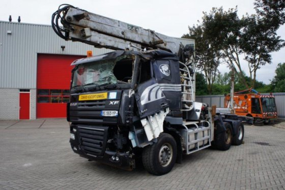 2010 DAF XF105-510 / MANUAL / RETARDER / EURO-5 / 6x4 / 2010 in Hedel,  Netherlands