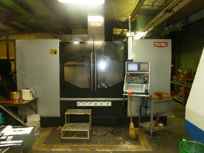 2011 TOYODA FV1480 VERTICAL MACHINING
