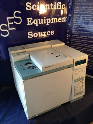 Hewlett Packard Gas Chromatograph, 6890A