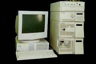 Hewlett Packard HPLC System, 1050