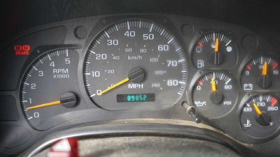 2006 GMC C5500: 11' ENCLOSED
