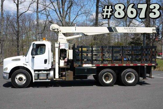2005 Freightliner M2-112 Boom/Crane Truck