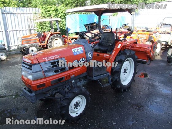 KUBOTA GL23DT mini tractor in