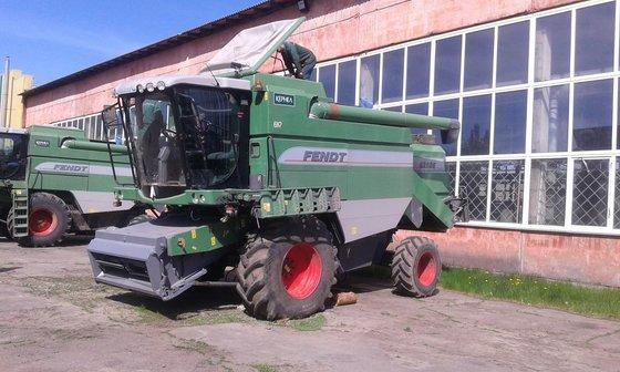 2008 FENDT 6250 E combine-harvester