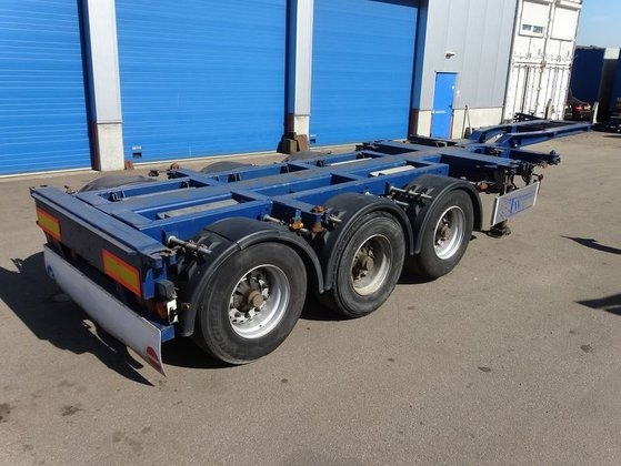2006 PACTON MULTI container chassis