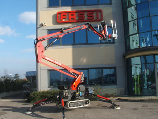 SPIDER 15.75 articulated boom lift