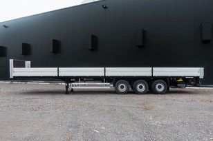 GRUNWALD Open sided semitrailer flatbed