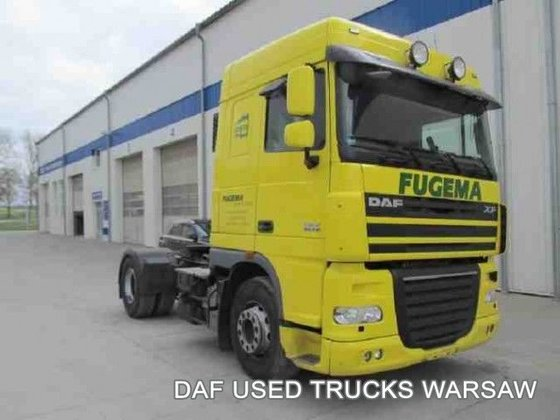 2011 DAF FT XF105.410 tractor