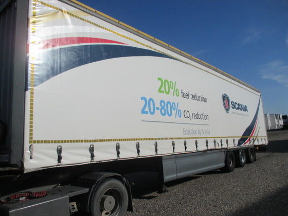 2006 KRONE tilt semi-trailer in