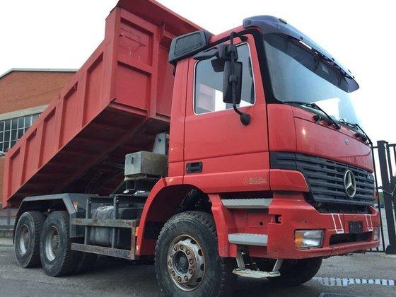 1999 MERCEDES-BENZ 3343 dump truck