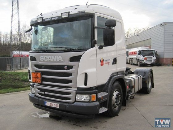2012 SCANIA tractor unit in