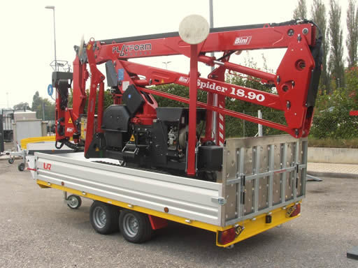SPIDER 18.90 articulated boom lift
