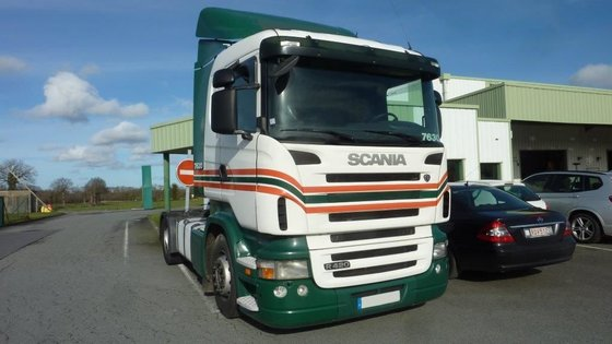 2009 SCANIA R420 tractor unit