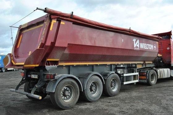 2012 WIELTON NW3S30HP tipper semi-trailer