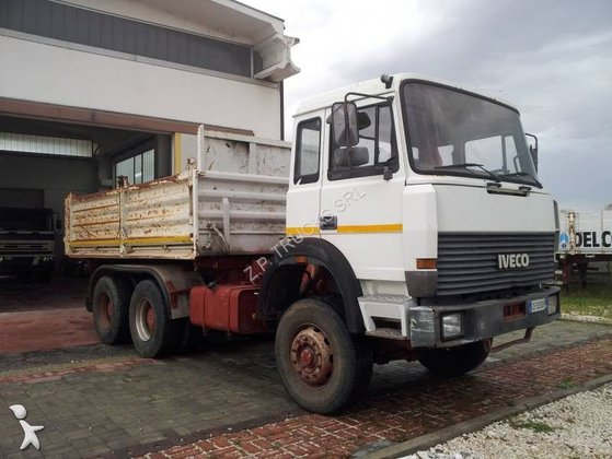 1992 IVECO dump truck in