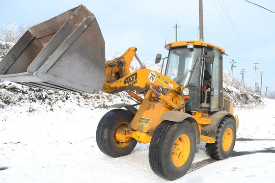 2002 JCB 407 wheel loader