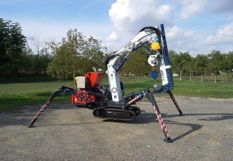 MINIGRU 4000E3 Spider mini crane