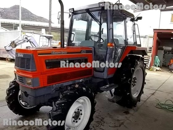 KUBOTA M1-75 wheel tractor in