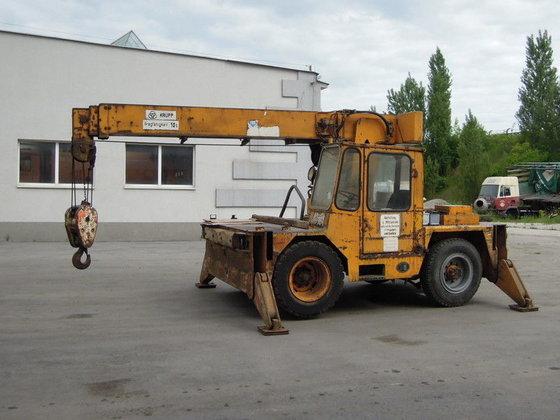 1979 KRUPP 10GMT-I mobile crane
