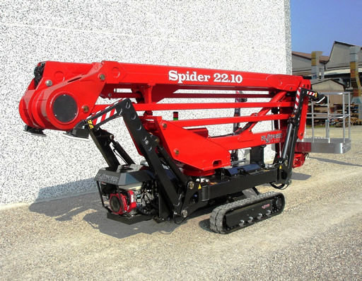 SPIDER 22.10 articulated boom lift