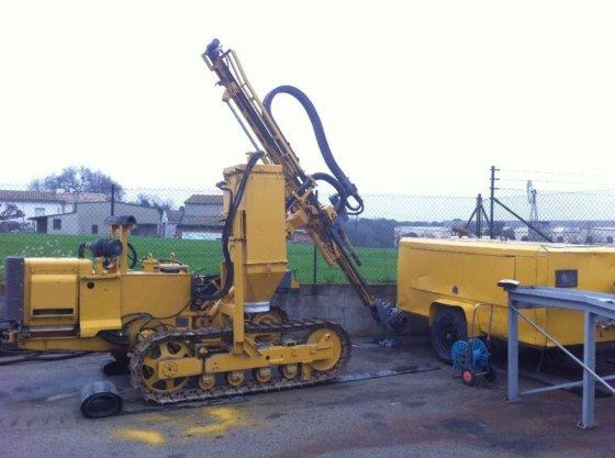 1984 BOHLER DTC 111 drilling