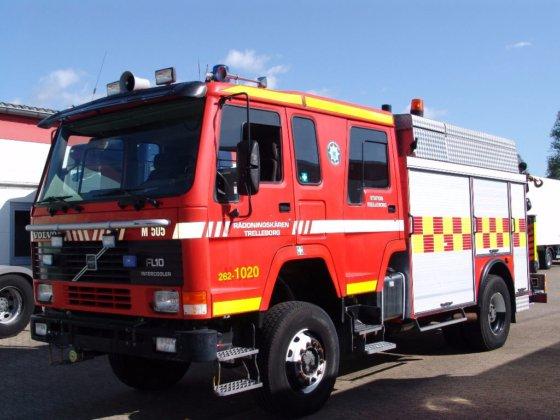 1991 VOLVO FL10 Doka Feuerwehr
