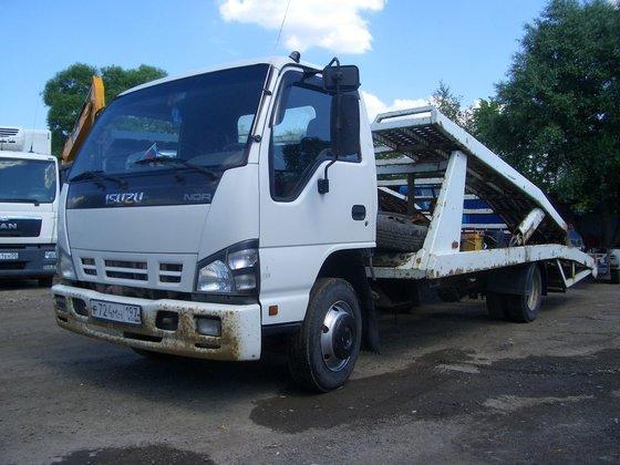 2008 ISUZU NQR75R-B car transporter
