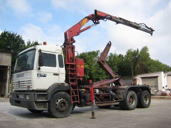 1996 RENAULT Manager G300 dump